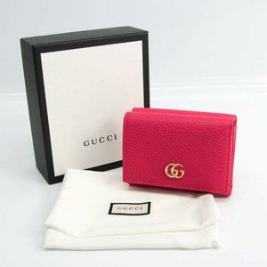 Gucci GG Marmont 474746 Women's Leather Wallet (tr